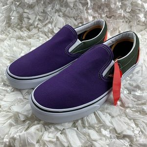 Unisex Vans  Classic Mix & Match Slip-On Violet